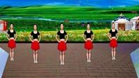 高安萍萍舞蹈《唱着情歌流着泪》原创口令分解动作教学