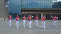 明月廣場舞《中國味道》健身操完整版演示及口令分解動作教學