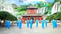 古桥丑丑舞蹈《新浏阳河》编舞动动演示团队口令分解动作教学
