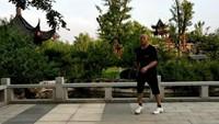 224豫東飛鶴廣場舞《大風歌》曳步彈跳入門舞16原創附教學口令分解動作演示