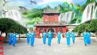 古桥丑丑舞蹈《新浏阳河》编舞刘荣演示团队完整版演示及口令分解动作教学