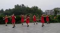 濟南金銀花舞隊《納西情歌》正背面演示及口令分解動作教學