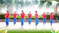 吉美廣場舞《愛的太傻》原創現代舞 附教學原創附正背面教學口令分解動作演示