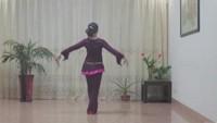 沙縣舞之緣廣場舞《花樓戀歌》正背面演示及口令分解動作教學和背面演