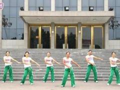 334舞動旋律2007(原創)腰腹操《雪蓮dj》經典正背面演示及口令分解動作教學