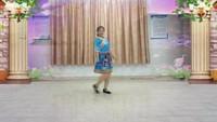 飛來峽廣場舞《納西情歌》附正背表演口令分解動作分解教學