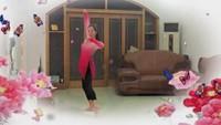 小媳妇女王古典舞练习《落花》镜面教学视频跟跳正背面演示及口令分解动作教学
