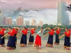 太原魅力無限廣場舞《卓瑪泉》編舞:午后驕陽正背面演示及慢速口令教學