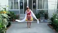 孔雀阿梅舞蹈《美丽的雪山姑娘》正反面演示及分解动作教学