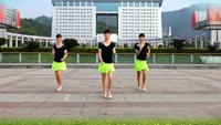 《動感恰恰》吉美廣場舞(背面)原創附教學口令分解動作演示