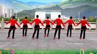 《動感桑巴》吉美廣場舞《正面)完整版演示及口令分解動作教學