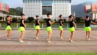 《動感恰恰》吉美廣場舞(正面)完整版演示及口令分解動作教學