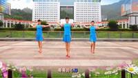 《納西情歌》吉美廣場舞(背面)完整版演示及分解教學演示