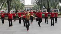 东莞景湖春天舞蹈《心里藏着你》完整版演示及口令分解动作教学