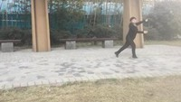 银杏茶舞蹈《葬花吟》编舞:秦来财 习舞:银杏茶正背面演示及口令分解动作教学
