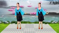曉冬廣場舞《你不離我不棄》_01正背面演示及慢速口令教學
