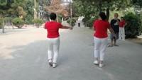 古月舞隊《啞巴新娘》原創附正背面教學口令分解動作演示