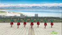 鑫舞慕顏廣場舞隊 雪蓮 表演 團隊版 正背面演示及口令分解動作教學