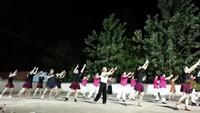 金杨朵朵舞蹈《唱着情歌流着泪》(晚练互动)正背面演示及口令分解动作教学和背面演