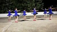 杨洁舞蹈《心里藏着你》(晚练互动)正背面演示及慢速口令教学