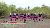 贵阳市半山站姐妹缘舞蹈队 心里藏着你 表演 团队版 完整版演示及口令分解动作教学