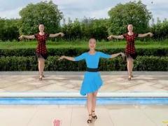 藏香廣場舞《愛情毛毛雨》恰恰倫巴風格 編舞:范范完整版演示及口令分解動作教學