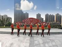 糖豆广场舞课堂《哈尼么么哒》 正面演示 背面演示 分解教学