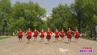 吉林梅河口市轻舞飞扬舞蹈队 燃烧我的爱 表演 团队版 口令分解动作教学演示