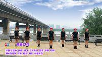 【時尚水兵舞】湘潭儷影廣場舞 青藏女孩 表演 團隊版 正背面口令分解動作教學演示