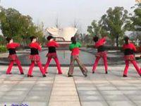 山谷里的思念 糖豆廣場舞課堂20141217原創附正背面教學口令分解動作演示