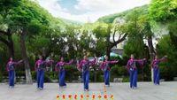 刘荣舞蹈七一献礼《新浏阳河》原创附教学完整版演示及口令分解动作教学
