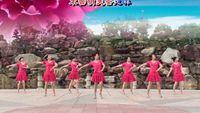 茉莉舞蹈《三生三世》原创华尔兹中三附教学31辑附正背表演口令分解动作分解教学