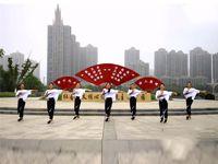 【青春无极限】安徽舞动彩虹广场舞 嘟拉 正背表演 团队版