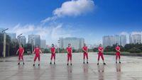 【青春无极限】海棠依旧舞蹈队 为爱远航 表演 团队版 完整版演示及分解教学演示