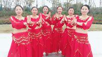 凤阳茉莉舞蹈印度舞《永远快乐》 正背面演示及口令分解动作教学