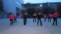 四川韻之舞隊《中華全家福》 原創附正背面教學口令分解動作演示
