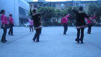 四川韻之舞隊《花蝴蝶》 正背面演示及口令分解動作教學和背面演