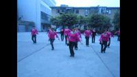 四川韻之舞隊《山里的孩子真漂亮》 正背面演示及口令分解動作教學和背面演