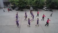 四川韻之舞隊《水鄉新娘》 正背面演示及口令分解動作教學