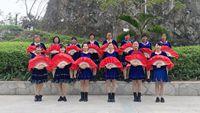 開心姐妹組小燕原創編舞《拜新年》附背面 附正背表演口令分解動作分解教學