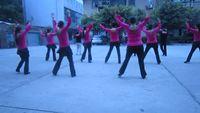 四川韻之舞隊《天藍藍》 正背面演示及慢速口令教學