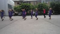 四川韻之舞隊《山路十八彎版》 完整版演示及口令分解動作教學
