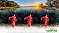 河南魯山軍王健身舞個人版《拜新年》編舞 慧慧 正背面演示及口令分解動作教學