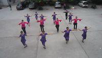 四川韻之舞隊《芭比恰恰》 完整版演示及分解教學演示