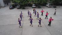 四川韻之舞隊《一曲紅塵》 正背面口令分解動作教學演示
