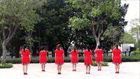 廣州春姐陽光舞蹈隊《為你等待》原創編舞附教學 正背面口令分解動作教學演示