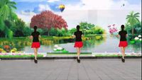 王峰廣場舞《納西情歌》 原創附教學口令分解動作演示