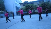 四川韻之舞隊《心花開在草原上》 正反面演示及分解動作教學