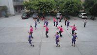 四川韻之舞隊《中國歌最美》 經典正背面演示及口令分解動作教學