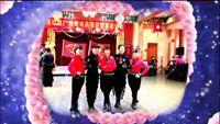 参加河洛红晨新春年会表演排舞《向上攀爬》 经典正背面演示及口令分解动作教学